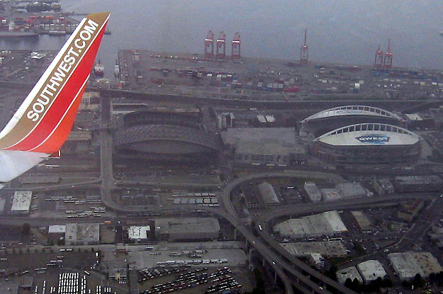 Safeco Field from above